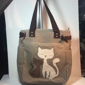 Handbags - *Gifted* Cat Tote